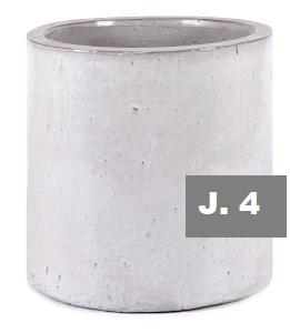 J.4 CILINDRO ESMALTE BLANCO